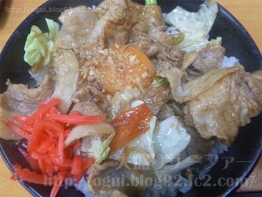 上野のラーメンちゃんぷのすた丼035