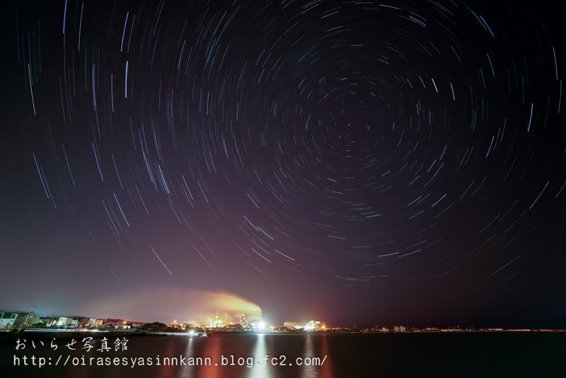 三菱製紙工場夜景2