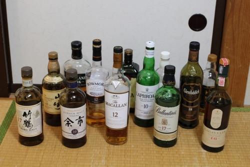 ウイスキー13本