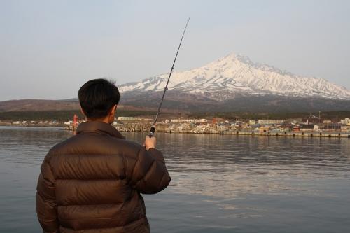 ほっけ釣り