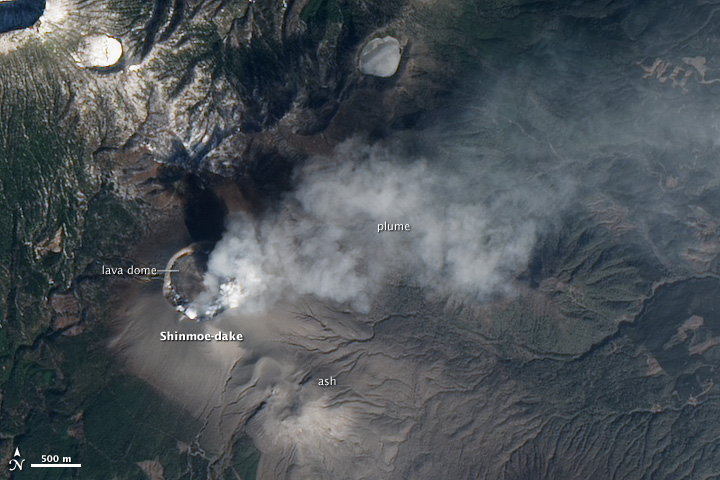 【霧島】新燃岳で火山性地震が増加