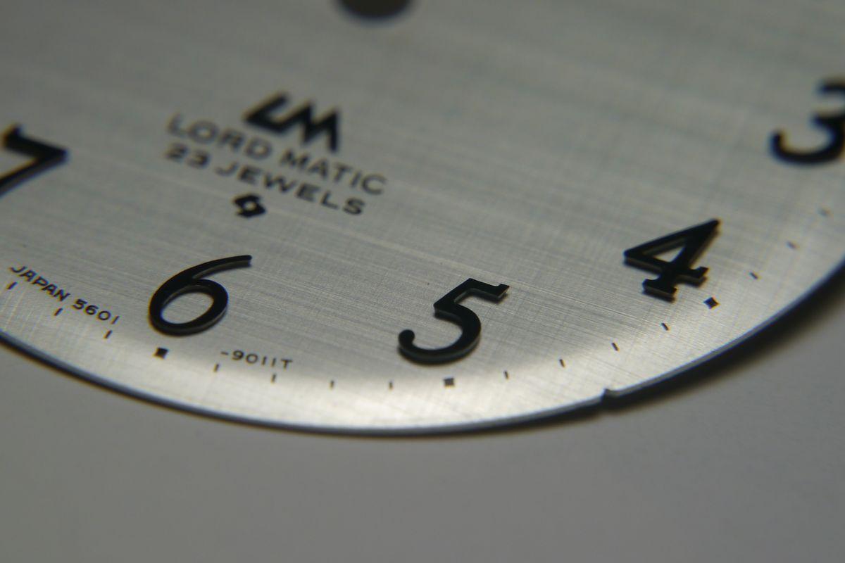 ロードマチック文字盤 A4