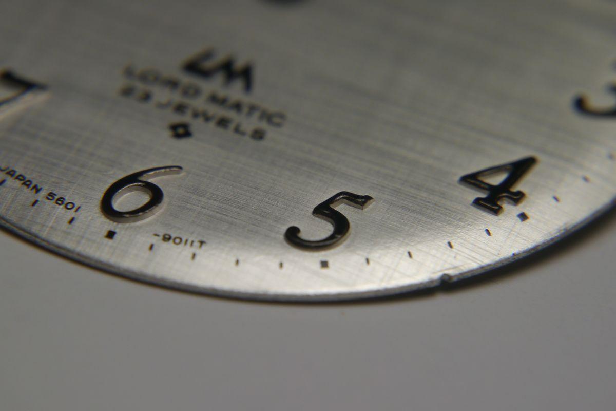 ロードマチック文字盤 A3