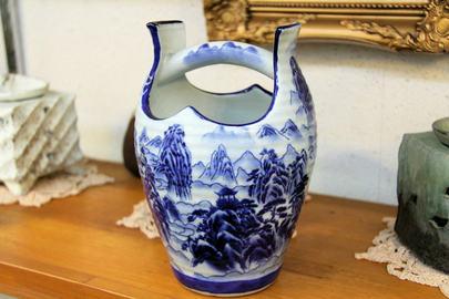 手桶の花瓶