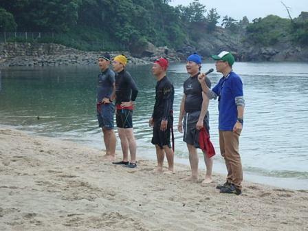 職員水泳2