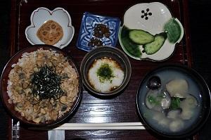 蔵のシジミ丼