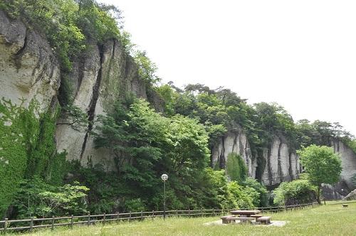 大谷景観公園全景