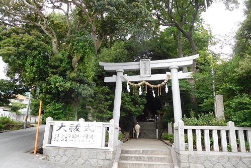越木岩神社鳥居