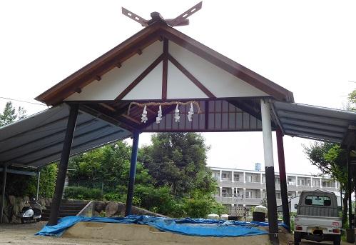 越木岩神社土俵