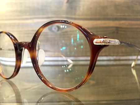 USH × EMMANUELLE KHANH  UF0-034 お洒落な眼鏡 丸メガネ 新潟県 めがね店 ファッション セレクトショップ
