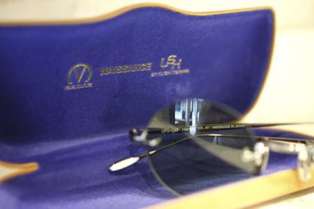 ush NAISSANCE トリプルネーム ダブルネーム サングラス ツーポイント ラウンド 丸めがね カラーレンズ 新潟県