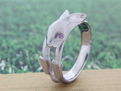 ウサギ/オーダーメイドエンゲージリング(婚約指輪)