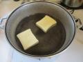 高野豆腐の湯豆腐3