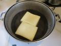 高野豆腐の湯豆腐4