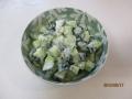 トルコ風キュウリのサラダ1