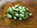 トルコ風キュウリのサラダ4