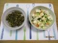 海水漬け野菜と豆腐のサラダ2