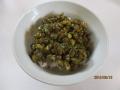 抹茶入り納豆キムチ丼2