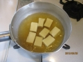 高野豆腐のチリ玉丼2