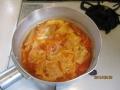 高野豆腐のチリ玉丼5