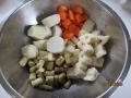 高野豆腐の筑前煮風3