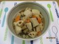 高野豆腐の筑前煮風1