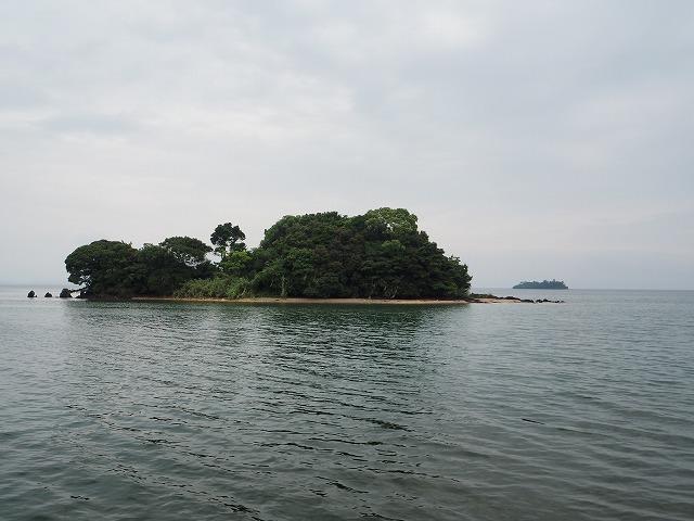 大村湾と島