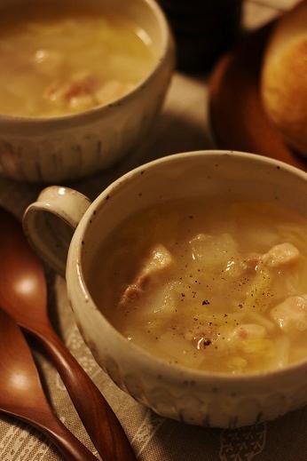 塩豚と白菜のスープ