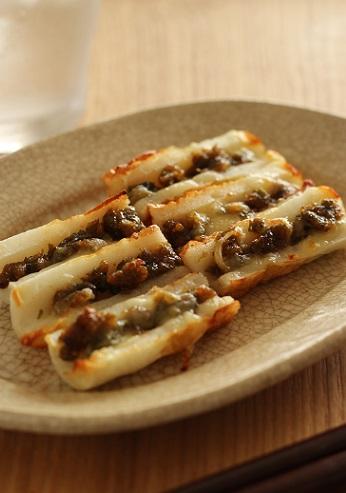 ふき味噌チーズちくわ