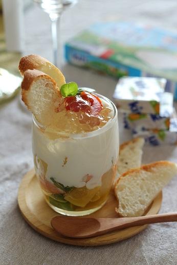 ポテトサラダのグラスティラミス