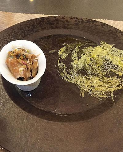 お刺身サラダ。。。2日目