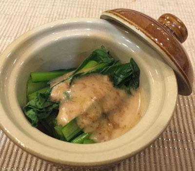 小松菜のごまごま