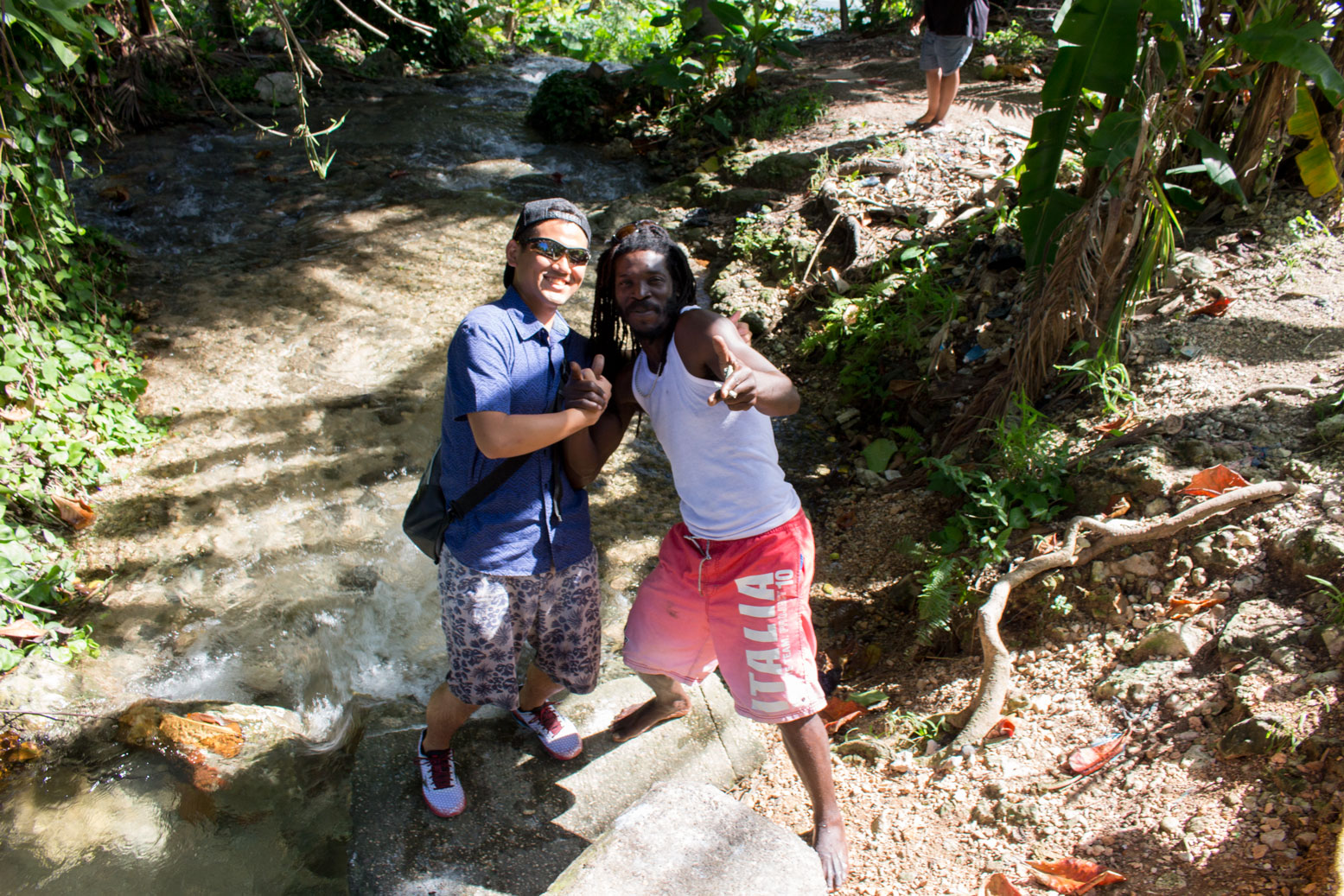 ジャマイカ ボブマーリー 滝