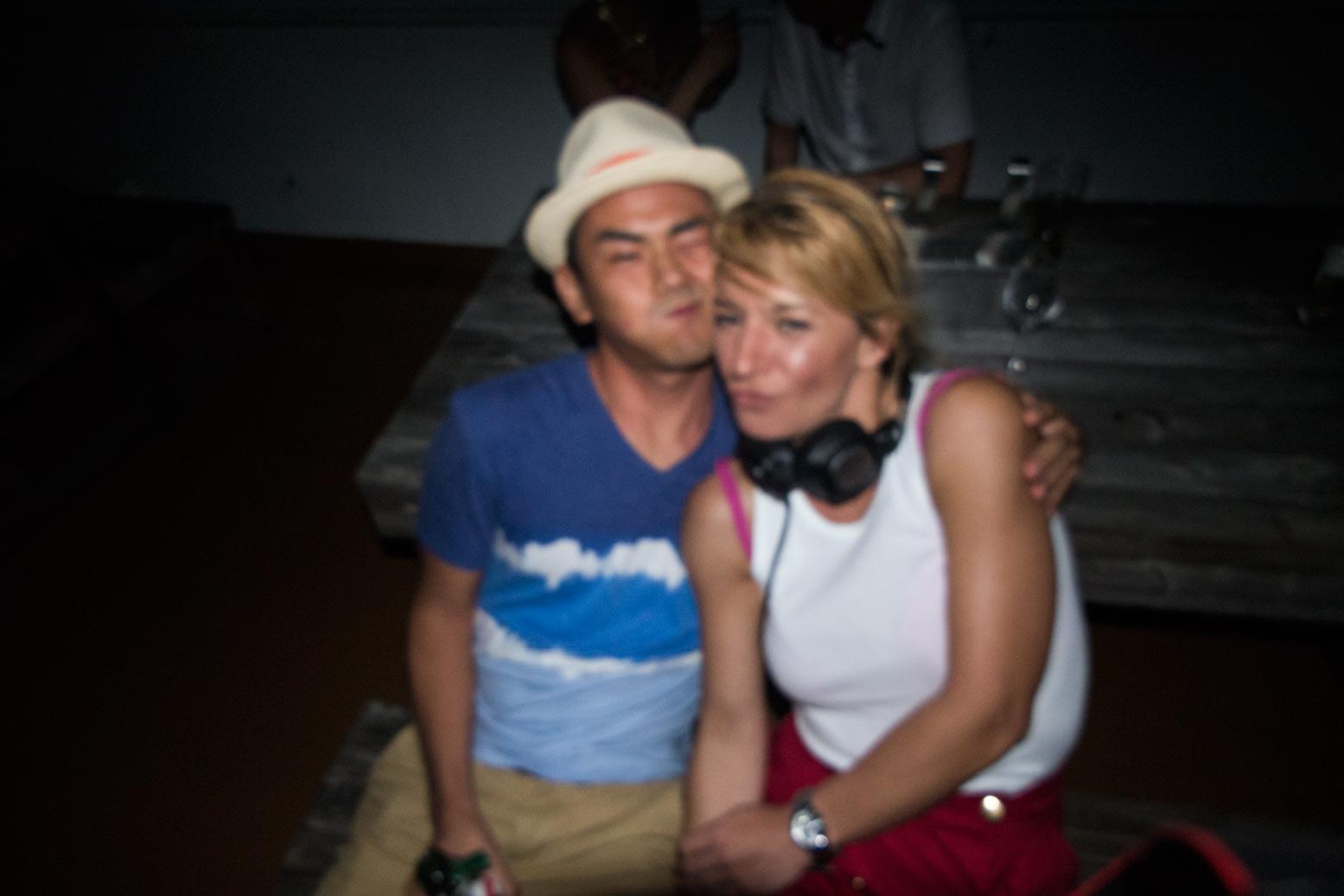 with Nikolina