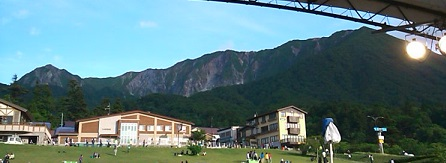山開き日和