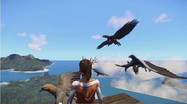 PS4 非戦闘系 MMO Wonder ワンダー 日本発売は7月予定 価格は3000円 風の旅人