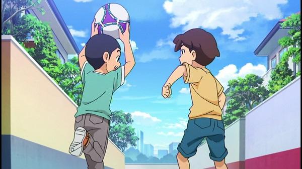 ゲームアニメ 妖怪ウォッチ 70話 感想 ハナホジン コワイライトゾーン モヒカン 銀魂