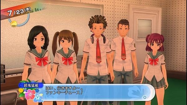 PS4 PS3 夏色ハイスクル★青春白書 (略) プレイ日記 三日月めぐ 取材 風紀委員 放送部 図書委員