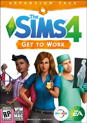 The Sims4 Get To Work Cover