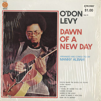JZ_O DONEL LEVY_DAWN OF A NEW DAY_201505