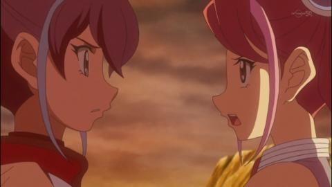 柚子とセレナの話し合い
