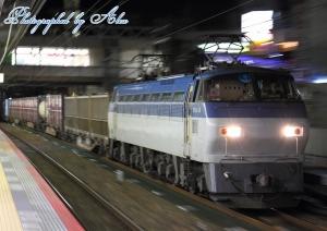 1095レ(=EF66-101牽引)