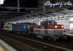 DE10-1614牽引、くま川鉄道甲種輸送(2)