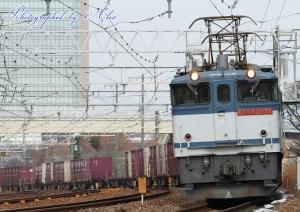 5087レ(=EF65-2076牽引)