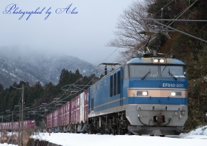 3099レ(=EF510-506牽引)