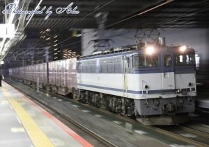 5086レ(=EF65-2101牽引)