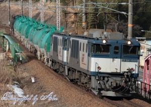 6883レ(=EF64-1009+EF64-1026牽引)