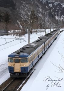 9352M:115系横須賀色「信越線スイッチバック号」