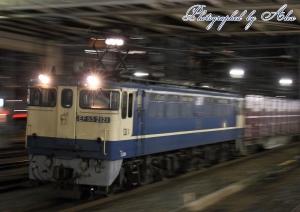 85レ(=EF65-2121牽引)