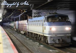 58レ(=EF66-121牽引)